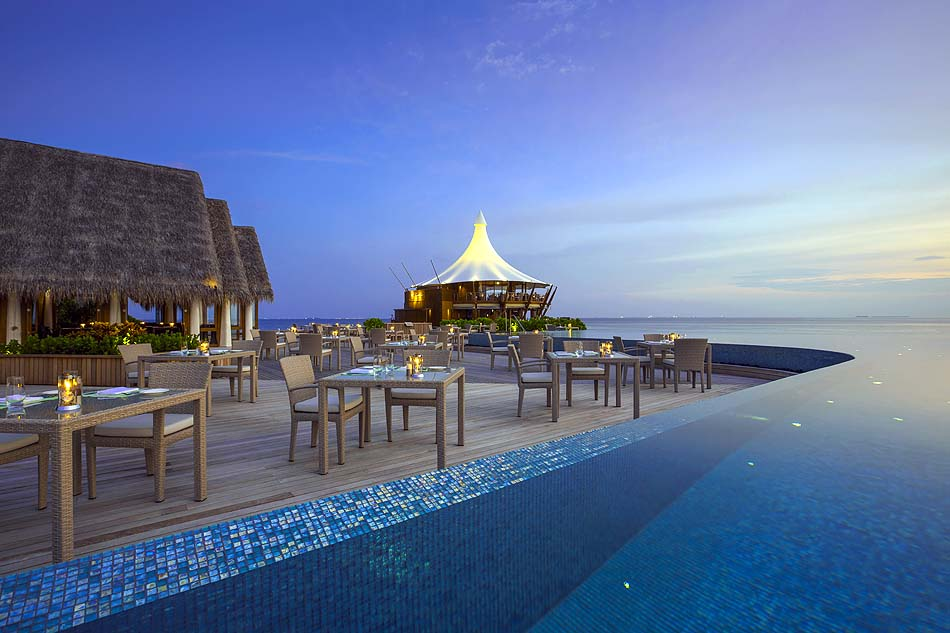 Lime Restaurant, Baros Maldives