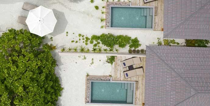Beach Pool Villa, Brennia Kottefaru