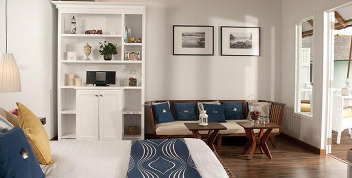 Wohnen, Deluxe Water Villa, Centara Grand Island Resort & Spa