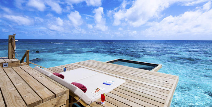 Sonnenterrasse, Ocean Water Villa, Centara Grand Island Resort & Spa