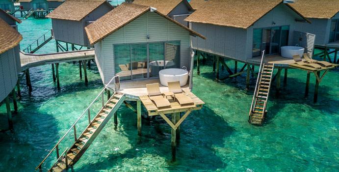 Deluxe Spa Overwater Villa, Centara Ras Fushi Resort & SPA