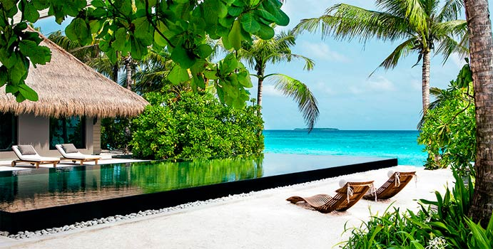 Infinity Pool, 1-Bedroom Island Villa, Cheval Blanc Randheli