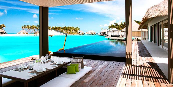 Terrasse, 1-Bedroom Water Villa, Cheval Blanc Randheli