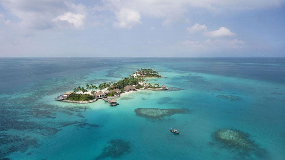 Luftansicht, Cheval Blanc Randheli, Maldives