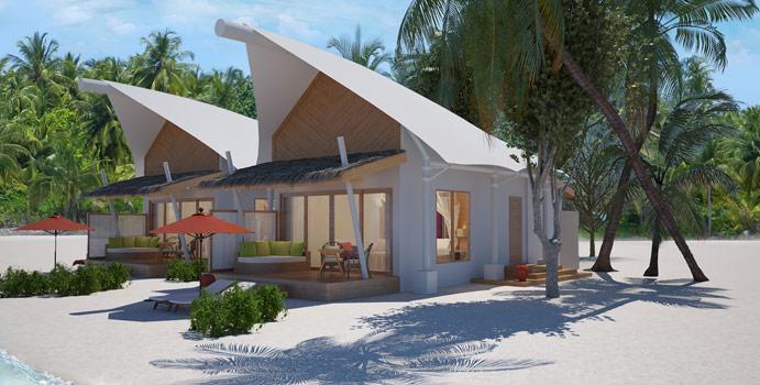 Platinum Beach Bungalow, Cinnamon Hakuraa Huraa Maldives