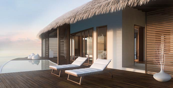 Water Suite with Pool | Cinnamon Velifushi Maldives