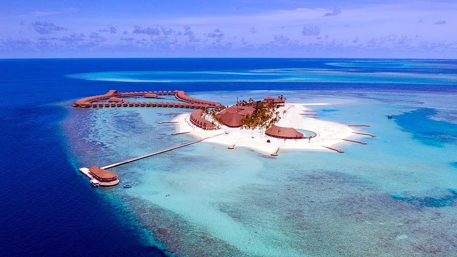 Luftaufnahme, Drohne| Cinnamon Velifushi Maldives