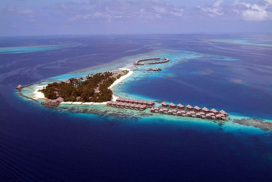 Luftaufnahme, Vogelperspektive, Coco Bodu Hithi, Maledives