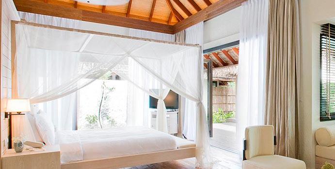 Hauptschlafzimmer, Two Bedroom Beach Suite, COMO Maalifushi