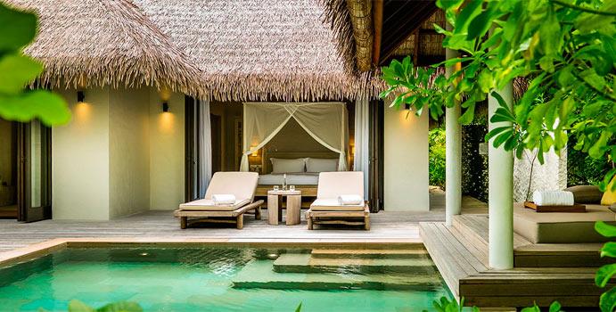 Two Bedroom Beach Villa, COMO Maalifushi