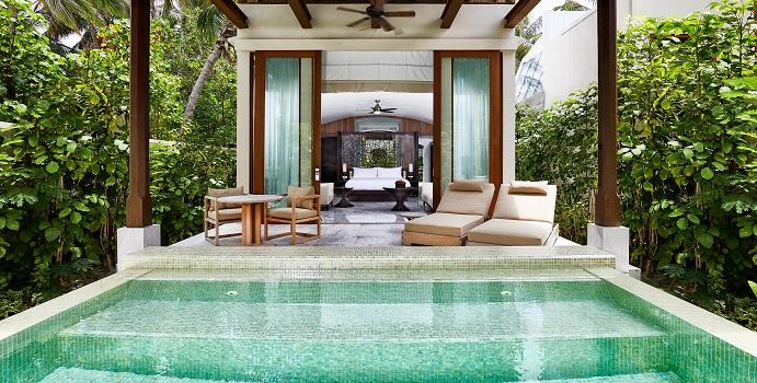 2-Bedroom Deluxe Beach Villa, Conrad Maldives Rangali Island