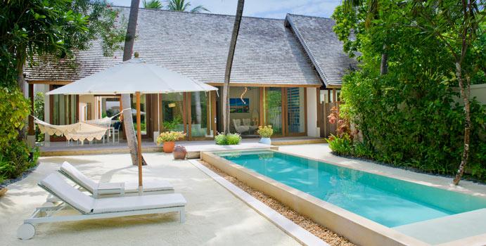 Beach Suite, Conrad Maldives Rangali Island