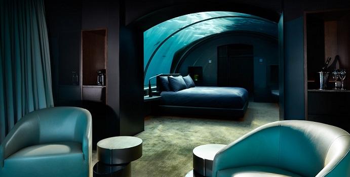 Unterwasserschlafzimmer, The Muraka, Conrad Maldives Rangali Island