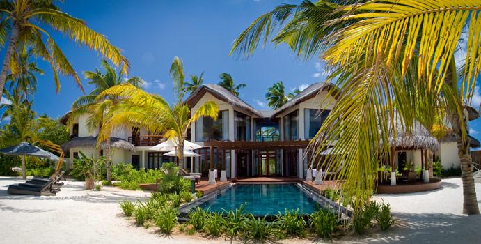 Presidential Suite, Constance Halaveli Resort