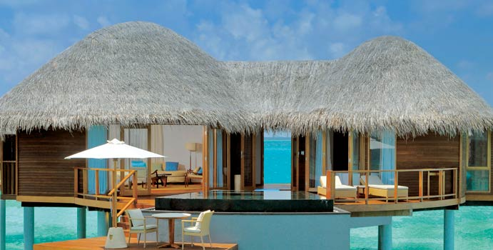 Water Villa, Constance Halaveli Resort