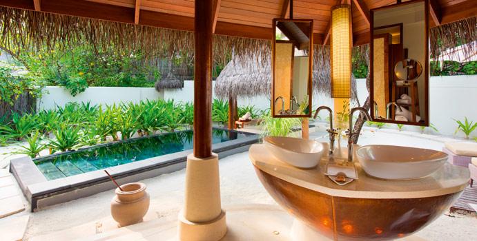 Bad, Family Beach Villa, Constance Halaveli Resort