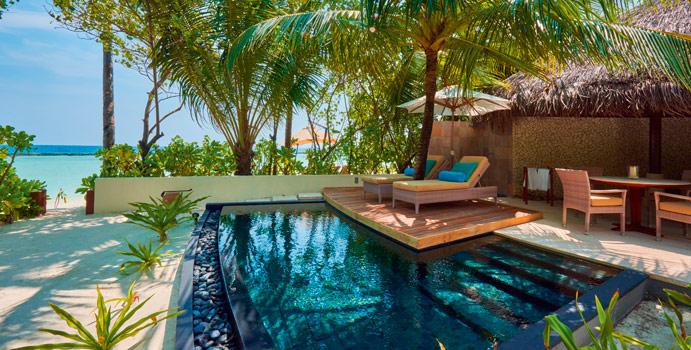 Beach Villa, Constance Halaveli Resort