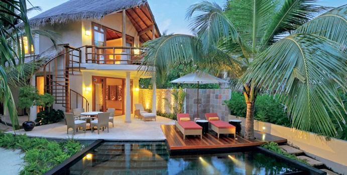 Double Storey Beach Villa, Constance Halaveli Resort