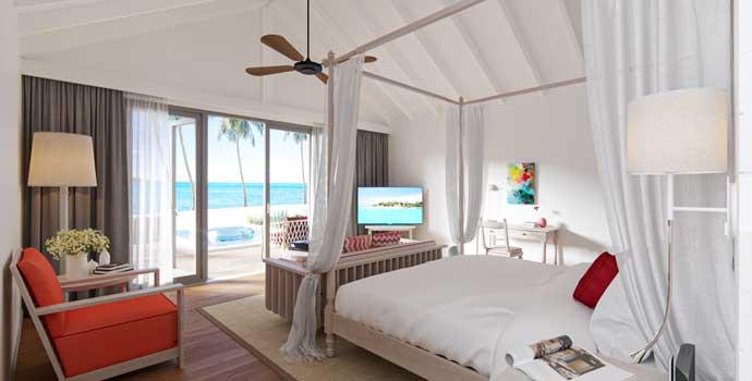 Two Bedroom Family Beach Villa, Cora Cora Maldives