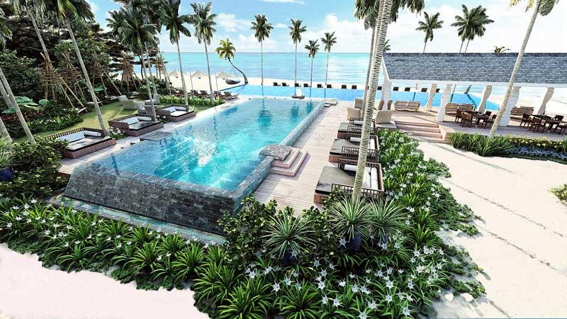 Beach Club, Cora Cora Maldives