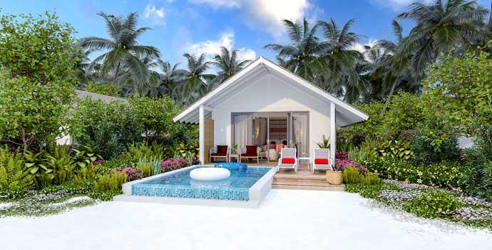 Beach Pool Villa, Cora Cora Maldives