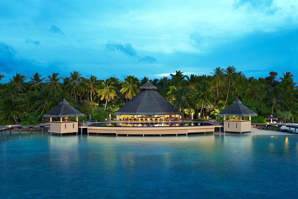 Malamathi Restaurant & Bar, Frontansicht, Ellaidhoo Maldives by Cinnamon