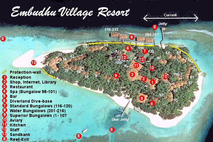 Lageplan Embudu Village