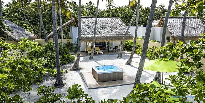 Jacuzzi, Jacuzzi Beach Villa, Emerald Maldives