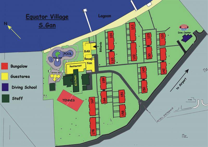 Lageplan Equator Village