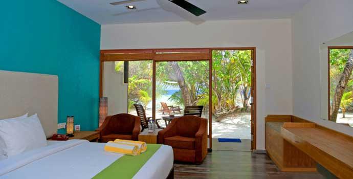 Deluxe Beach Villa, Eriyadu Island Resort