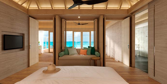 Ocean Suite with Pool, Faarufushi Maldives