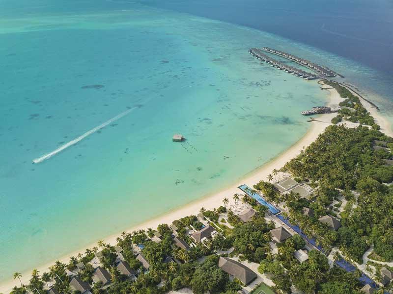 Aerial Lagoon, Fairmont Maldives Sirru Fen Fushi