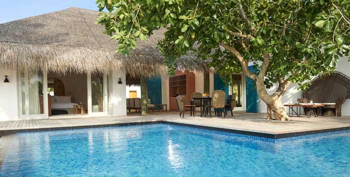 Two Bedroom Beach Sunset Villa, Fairmont Maldives Sirru Fen Fushi