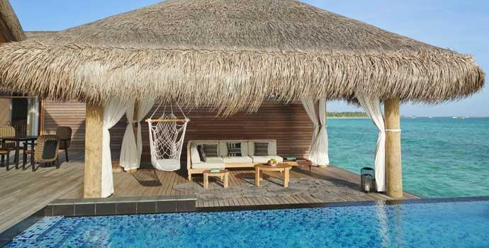 Two Bedroom Water Sunset Villa, Fairmont Maldives Sirru Fen Fushi