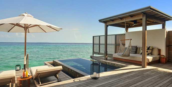 Two Bedroom Water Sunrise Villa, Fairmont Maldives Sirru Fen Fushi