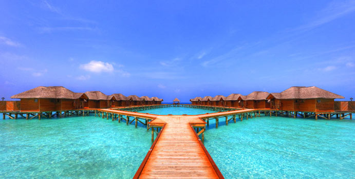 Steg Water Bungalow, Fihalhohi Island Resort
