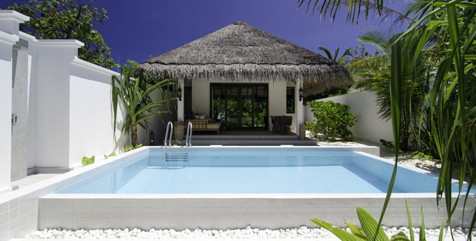 Beach Pool Villa, Finolhu