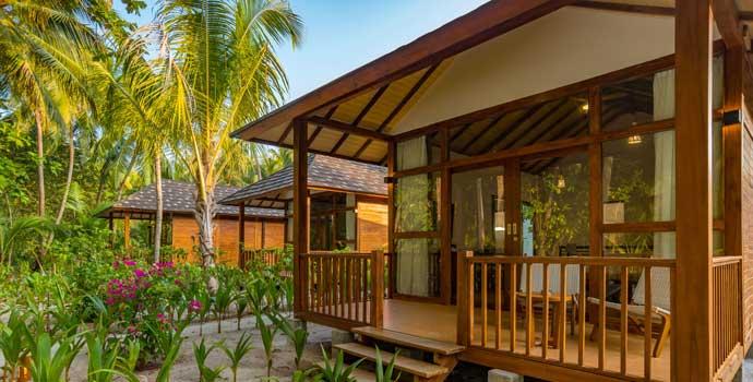 Deluxe Garden Villa, Fiyavalhu Maldives