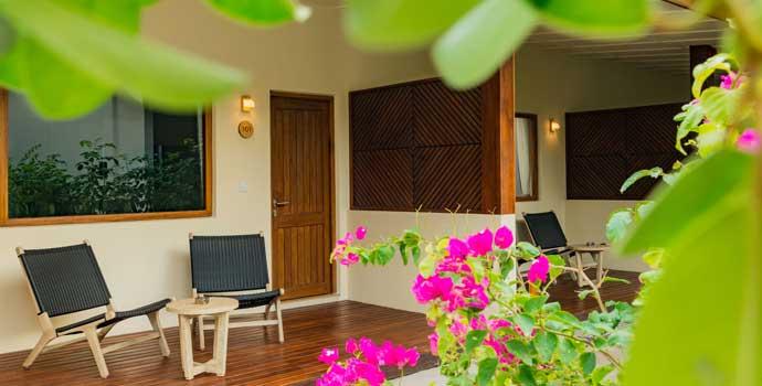 Terrasse, Garden Villa, Fiyavalhu Maldives