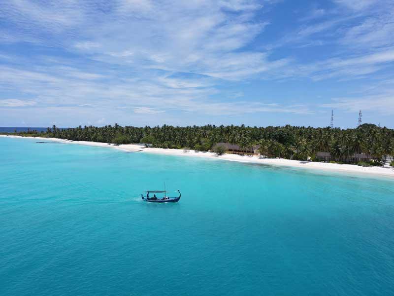 Aerial Beach , Fiyavalhu Maldives