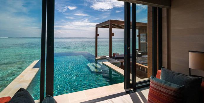 Sunset Water Villa with Pool, Four Seasons Resort Maldives at Kuda Huraa