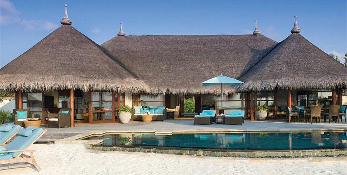 Two Bedroom Royal Beach Villa, Four Seasons Resort Maldives at Kuda Huraa