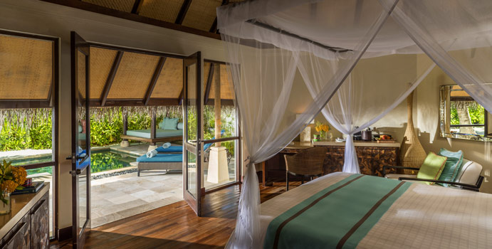 Wohnen, Sunset Beach Pavilion with Pool, Four Seasons Resort Maldives at Kuda Huraa