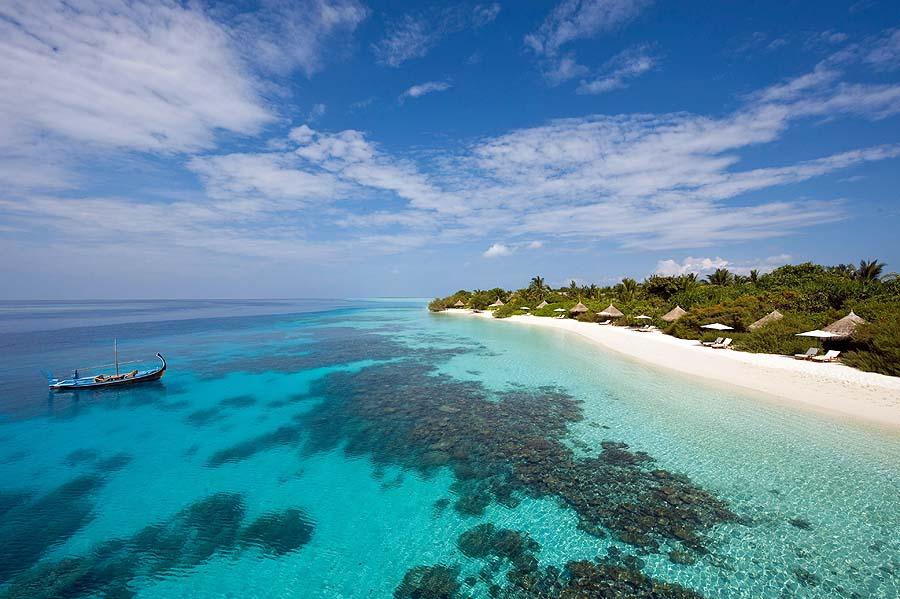 Traumstrand, Four Seasons Resort Maldives at Landaa Giraavaru
