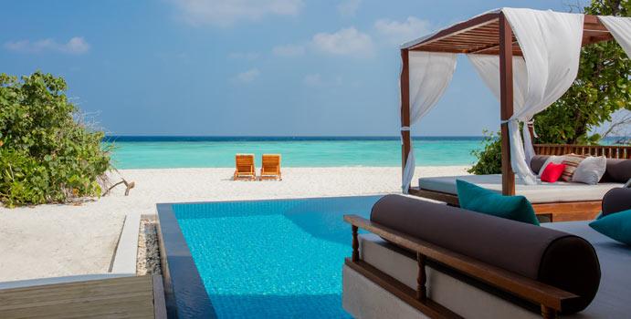 Beach Villa with Pool, Furaveri Maldives