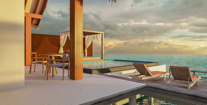 Sunset Ocean Pool Villa, Furaveri Maldives
