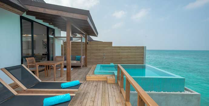 Pool Water Villa, Fushifaru Maldives