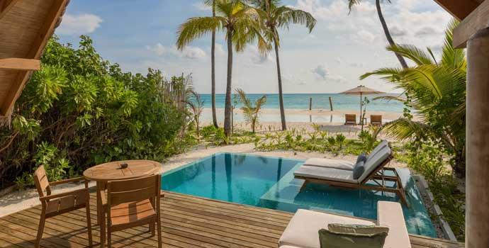 Beach Duplex Villa, Fushifaru Maldives