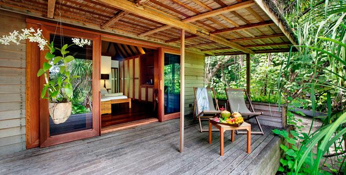 Terrasse, Garden Villas, Gangehi Island Resort