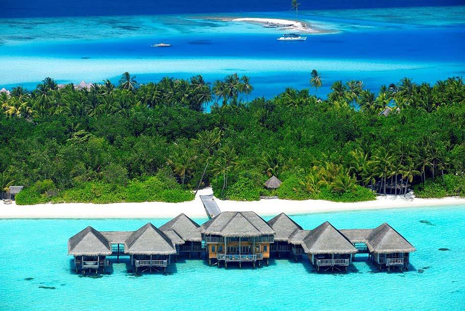 Meera Spa Frontansicht, Gili Lankanfushi, Maldives